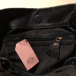 Juicy Couture Bags - Juicy Couture quilted black leather tote